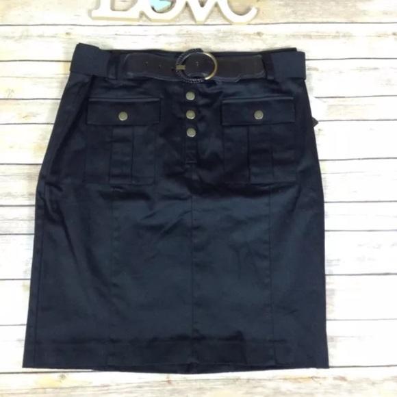 Dana Buchman Dresses & Skirts - ❗️SOLD❗️Dana Buchman black pencil skirt with belt